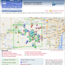 The Washtenaw Area (Michigan) Transportation Study (WATS)